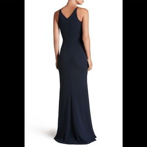 Dress the Population Dresses - Dress The population iris slit crepe gown